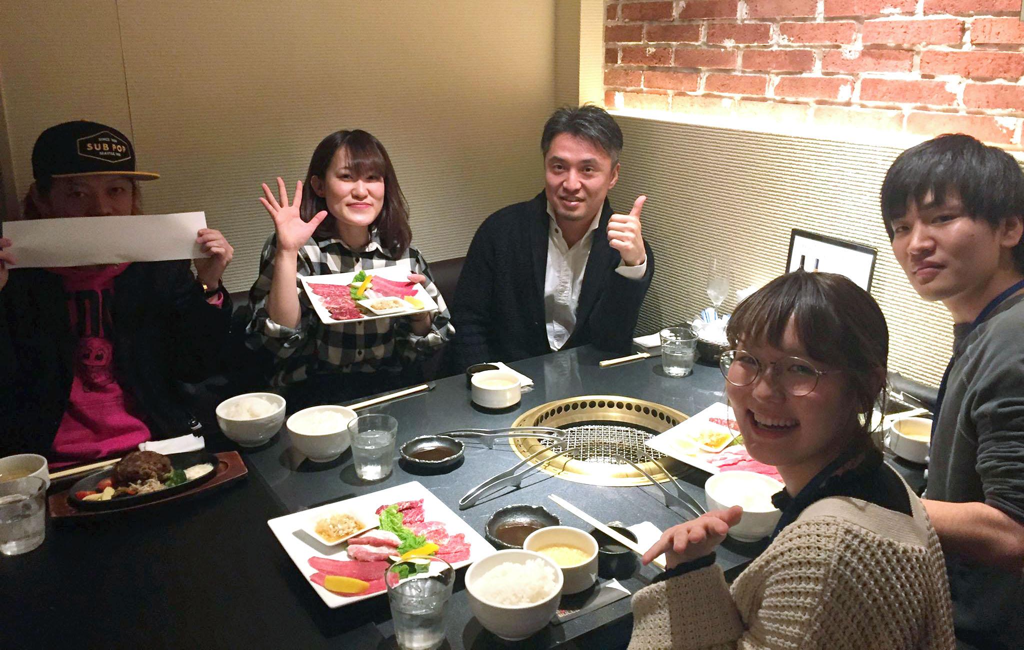 """はじまりました、月一イベント """"社長ランチ会"""" !"""